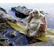 River Buddha Photographic Print