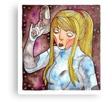 Videogame Babes #3 Metal Print