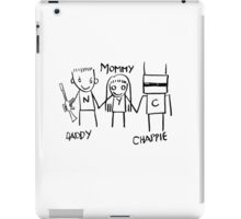 Daddy Mommy Chappie iPad Case/Skin
