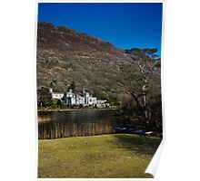 Kylemore Abbey, Lough & Boat Poster