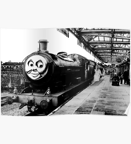 Douglas, The Steam Engine Poster