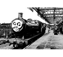 Douglas, The Steam Engine Photographic Print
