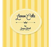 LemonCake Photographic Print