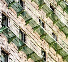 Green Balconies by dbvirago