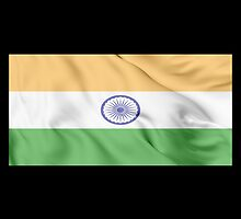 India Flag by JoCa-byJoeCarr