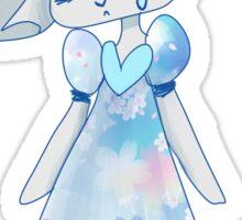 Sad rabbit Sticker