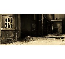 Cement Alley Photographic Print