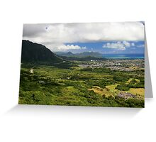 Pali Vista Greeting Card