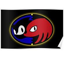 Sonic 3+k logo Poster