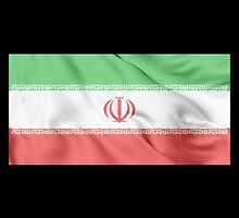Iran Flag by JoCa-byJoeCarr