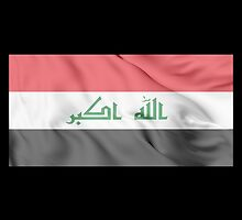 Iraq Flag by JoCa-byJoeCarr