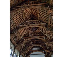 Wooden Roof from Eltham Palace Photographic Print