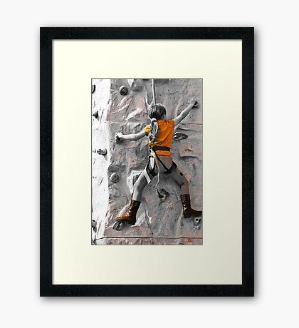 Tiny Adventurer Framed Print