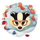 Christmas Wildlife: Badger by Jenny Lloyd