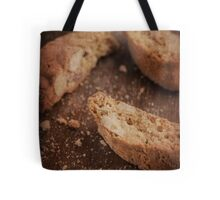 Still life of Italian almond cookies Tote Bag