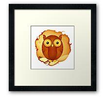 Christmas Wildlife: Tawny Owl Framed Print
