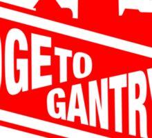 BTG Go Faster Red Sticker