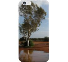 Gum Tree Drinking : Billabong Roadhouse, outback Western Australia iPhone Case/Skin