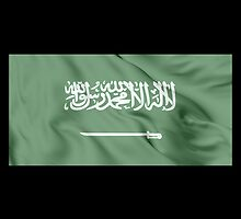 Kingdom of Saudi Arabia Flag by JoCa-byJoeCarr