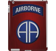 Android Airborne Patch iPad Case/Skin
