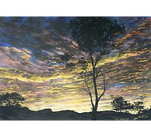 Painting for Bushfire Appeal - Lansdowne Sunrise Photographic Print