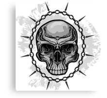 Chained Skull Canvas Print