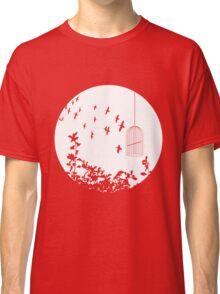 Flying Free 2 Large Classic T-Shirt