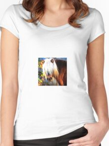 Pony Portrait Women's Fitted Scoop T-Shirt