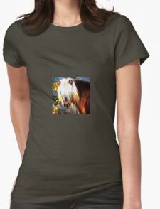 Pony Portrait Womens Fitted T-Shirt