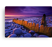 Old Groyne at Westward Ho Canvas Print