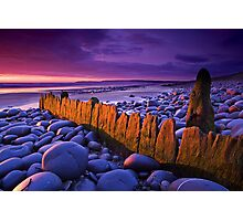 Old Groyne at Westward Ho Photographic Print