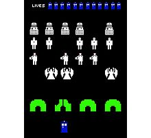 Space Invaders | Doctor Who Photographic Print