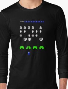 Space Invaders | Doctor Who Long Sleeve T-Shirt