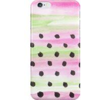 Puntos de Primavera iPhone Case/Skin
