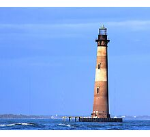 Morris Island Lighthouse Photographic Print