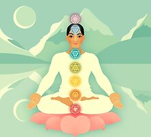 Sacred World: Chakras by Jenny Lloyd