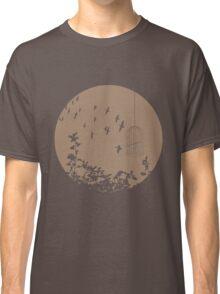 Flying Free 2 Mocha Large Classic T-Shirt