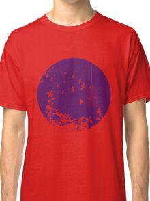 Flying Free 2 Purple Large Classic T-Shirt