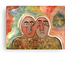 two figures Canvas Print