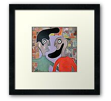 ‏‏two people Framed Print