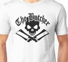 Butcher Skull and Cleavers Black Unisex T-Shirt