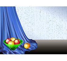 Rainy Day Apples Photographic Print