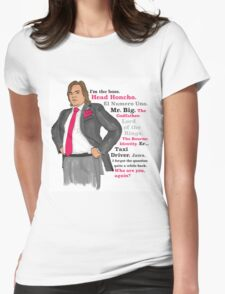 Douglas Reynholm (The IT Crowd) Womens Fitted T-Shirt