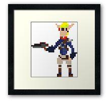 Pixel Jak2 Framed Print