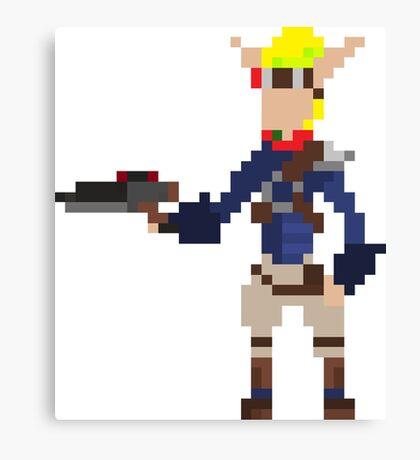 Pixel Jak2 Canvas Print