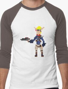 Pixel Jak2 Men's Baseball ¾ T-Shirt