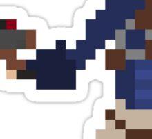 Pixel Jak2 Sticker