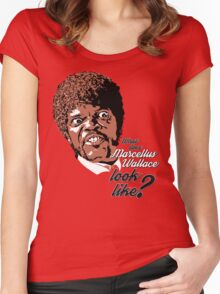 Jules Winnfield - Pulp Fiction Women's Fitted Scoop T-Shirt