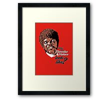 Jules Winnfield - Pulp Fiction Framed Print