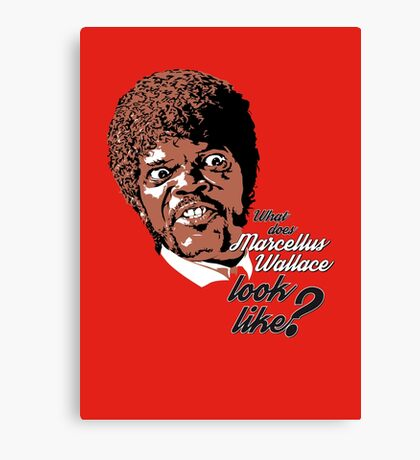 Jules Winnfield - Pulp Fiction Canvas Print